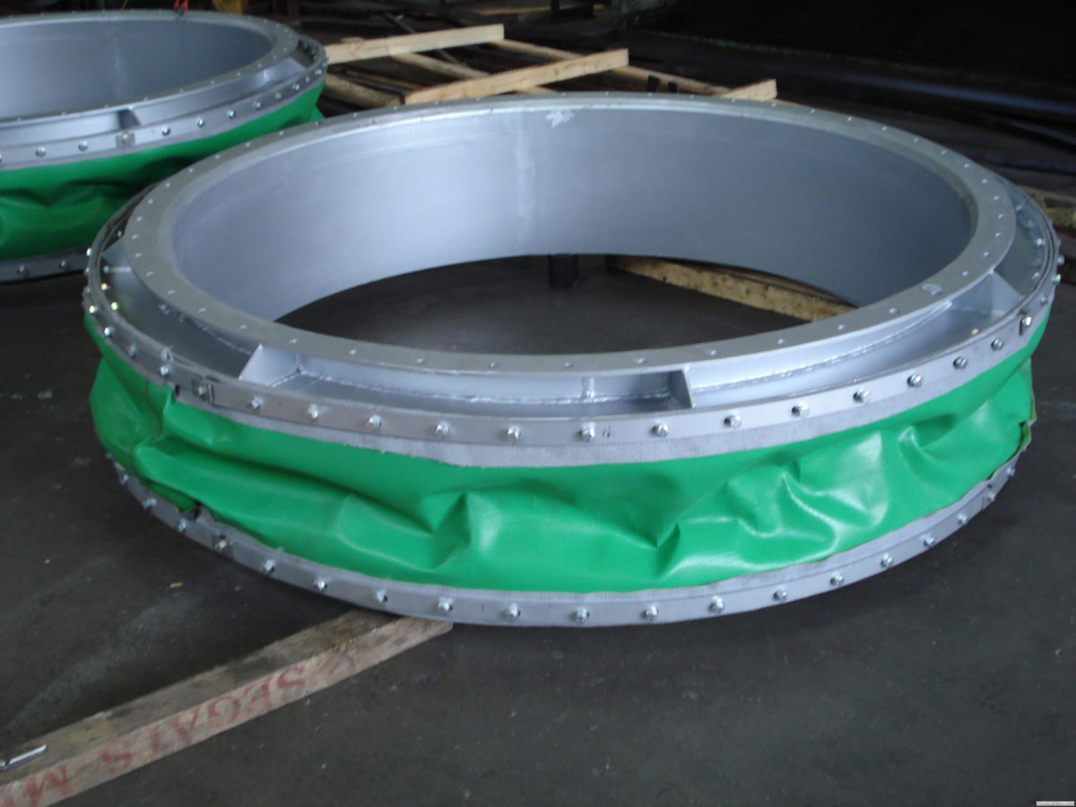 Fabric Belt Type Expansion Joint