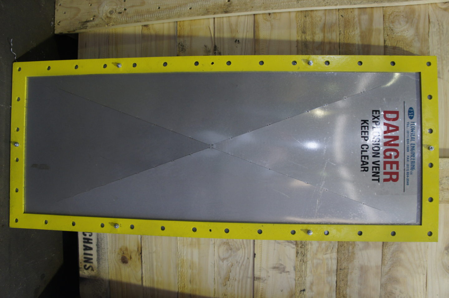 Explosion Panel Ready for use