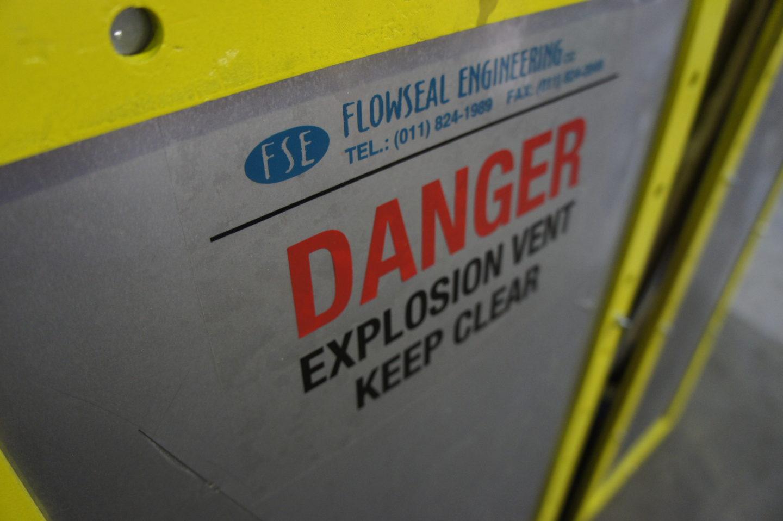 Explosion Panel Signage