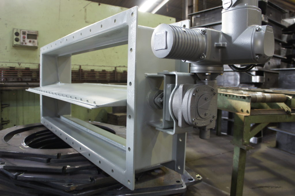 Butterfly Dampers | Guillotine Dampers | Louver Dampers and